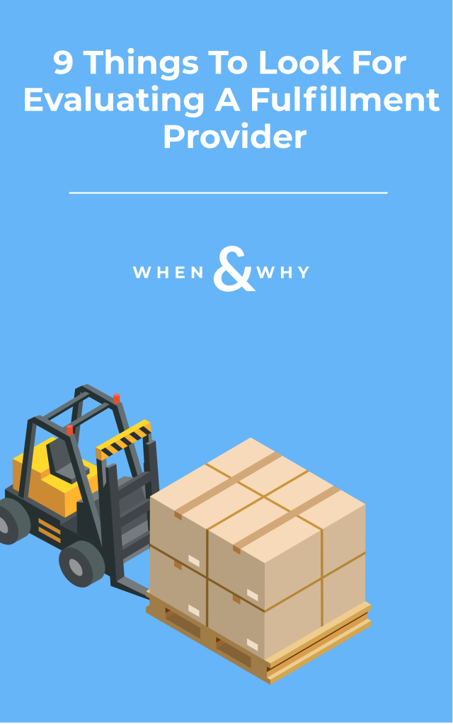 How to Choose a Fulfillment Provider for Your Ecommerce Business
