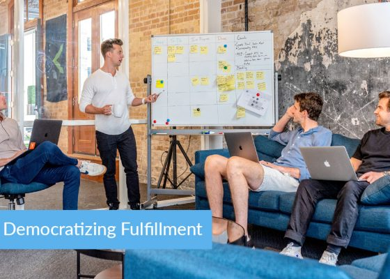 Democratizing fulfillment: Here's a Quick Way to Same-Day Shipping