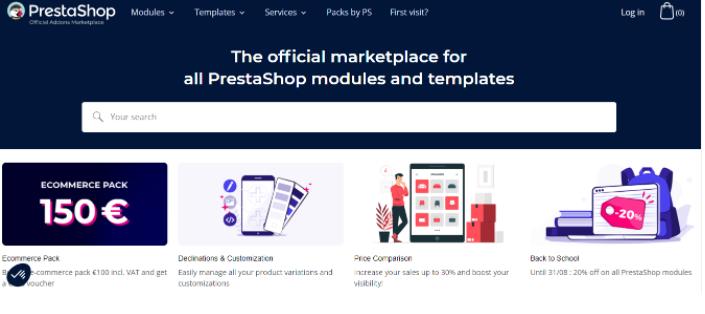 Woocommerce vs Prestashop Add-Ons