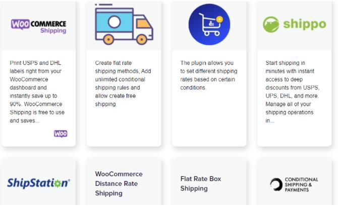 Woocommerce vs Prestashop Shipping Methods
