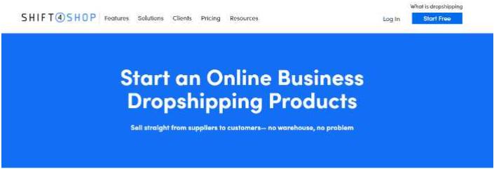 Shift4Shop Dropshipping
